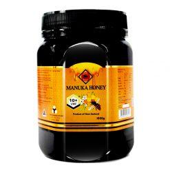 organicer manuka honey 10 plus 1000 gram bottle front side