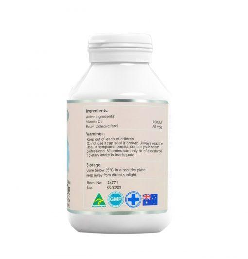 vitamin d3 1000iu 90 tablets right side