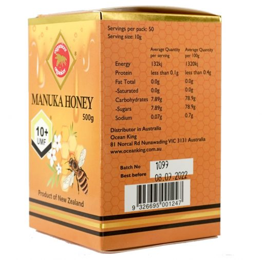 Organicer® UMF 10+ Manuka Honey 500g-678