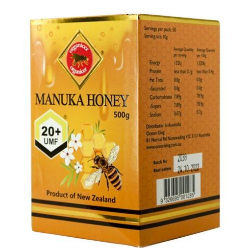 Organicer® UMF 20+ Manuka Honey 500g-668