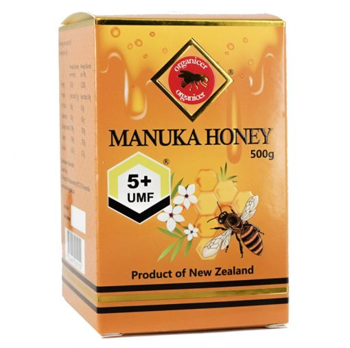 Organicer® UMF 5+ Manuka Honey 500g-0