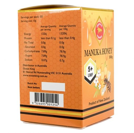 Organicer® UMF 5+ Manuka Honey 500g-674