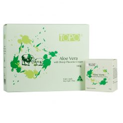 topo-aloe-vera-with-sheep-placenta-creme-100-gram-6-jar-gift-pack-front