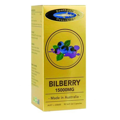 Ocean King® 15000mg Bilberry soft gel capsule 3x90's gift pack-689