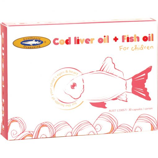 OCEAN KING® Cod Liver Oil + Fish Oil-0
