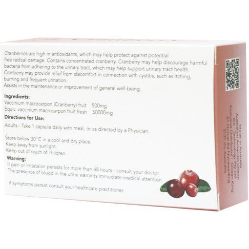 Organicer® Cranberry 50000mg hard gel capsule 6x30's gift pack-225