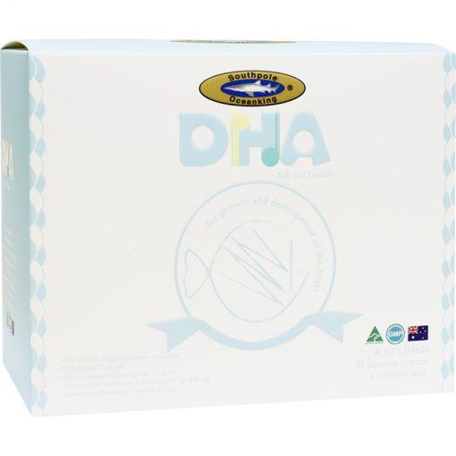 OCEAN KING® DHA soft gel capsule 6x30's gift pack-0