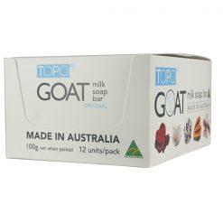 TOPO® GOAT MILK SOAP bar Original 12x100g PACK-0