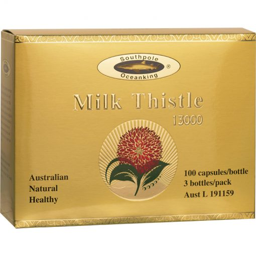 OCEAN KING®Milk Thistle 13000 3x100's gift pack-0