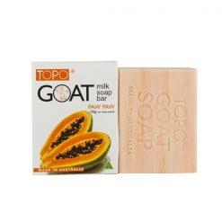 TOPO® Goat Milk Soap Bar Paw Paw 100g-0