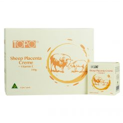 topo-sheep-placenta-cream-with-vitamin-e-100-gram-6-jar-gift-pack-front-side