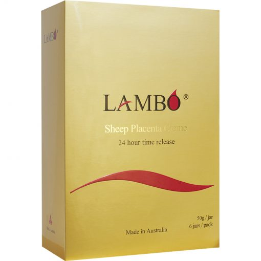 LAMBO® Sheep Placenta Creme 24 Hour Time Release 6x50g Gift Pack-0