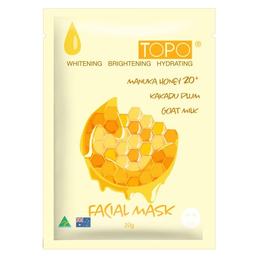TOPO® MANUKA HONEY 20+ FACIAL MASK SHEET-708