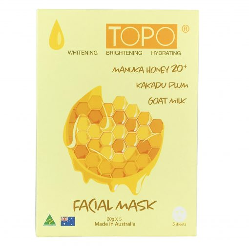 TOPO® MANUKA HONEY 20+ FACIAL MASK SHEET-0