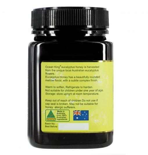 ocean-king-eucalyptus-honey-500g-left-side