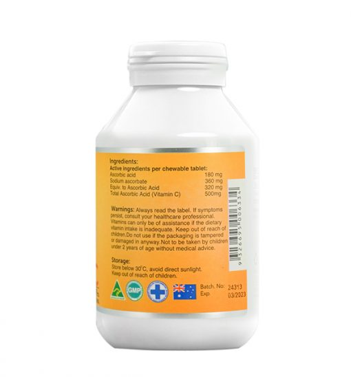 ocean-king-vitamin-c-500mg-90-chewable-tablets-right-side